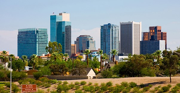 With luxury hotels, golfing, and beautiful scenery, Phoenix has tons to offer visitors.