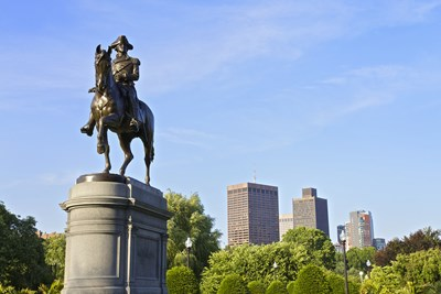 this statue of paul revere is a must-see during a weekend in boston