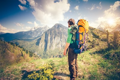 Backpacking means you don't have to keep track or pay for a lot of luggage.