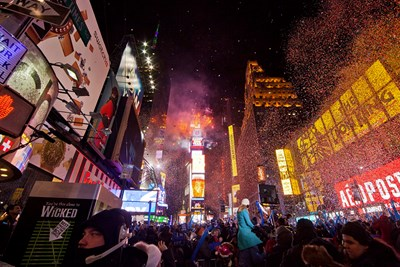 There is no New Years Eve celebration quite like the one in Times Square.