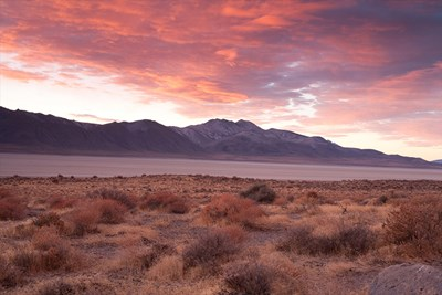The beauty of Black Rock Desert is apparent every year when it hosts the Burning Man festival.
