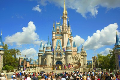 image of the disney castle