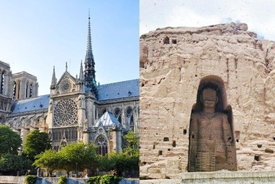 famous monuments that got ruined throughout history