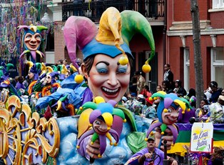 The Super Krewes of New Orleans Mardi Gras