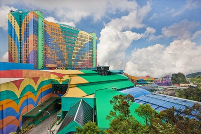 Resorts World Genting in Malaysia is one of the largest hotels in the world