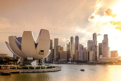 Singapore is one of the safest large cities in the world.