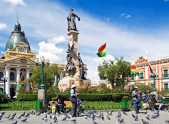 La Paz is in Bolivia, a country unwelcoming to foreign visitors