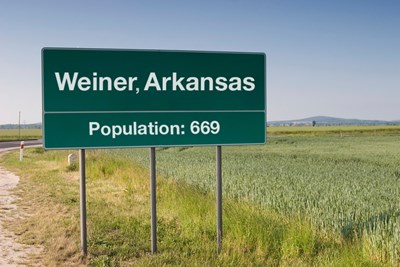 Weiner is one of the most awkwardly named cities in the world.
