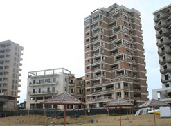 The former city of Varosha is one of the largest abandoned cities in the world.