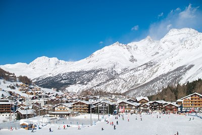 Saas-Fee, Switzerland was the filming location for On Her Majestys Secret Service.