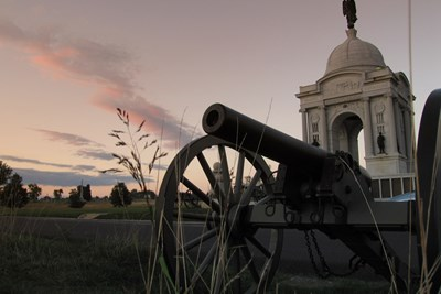 Gettysburg played an important and historic part in American history.