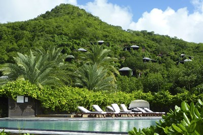 Hermitage Bay in Antigua and Barbuda is one of the most luxurious resorts in the world.