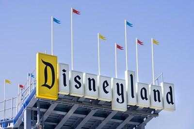 a disneyland sign