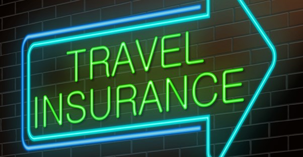 Green Arrow pointing to A Medical Travel Insurance Company