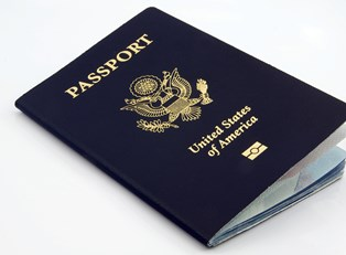 a U.S. passport book