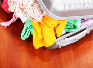 how to pack suitcase without wrinkles